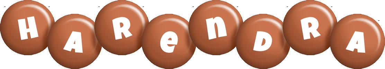 Harendra candy-brown logo