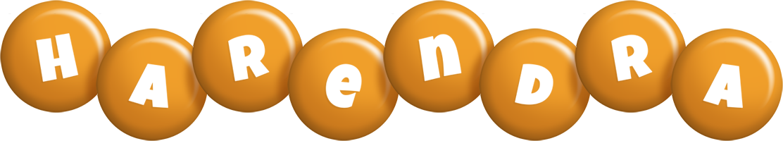 Harendra candy-orange logo