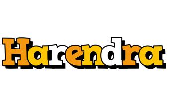 Harendra cartoon logo