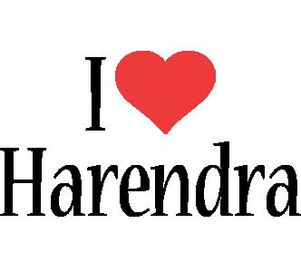 Harendra i-love logo
