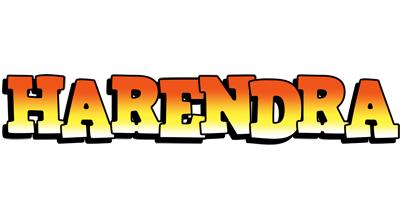 Harendra sunset logo