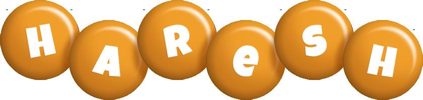 Haresh candy-orange logo