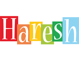 Haresh colors logo