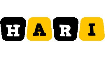 Hari boots logo