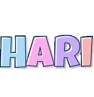 Hari pastel logo