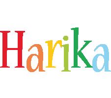 Harika birthday logo