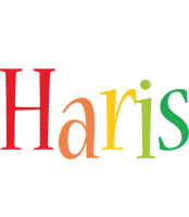 Haris birthday logo