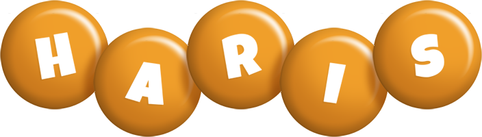 Haris candy-orange logo