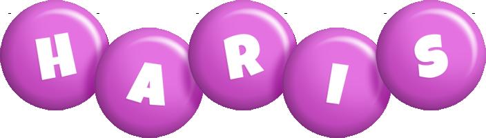 Haris candy-purple logo