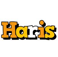 Haris cartoon logo