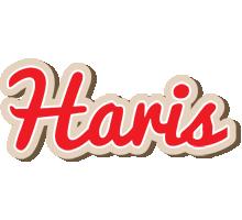 Haris chocolate logo