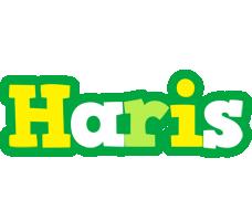 Haris soccer logo