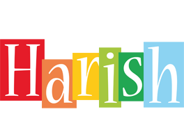 Harish colors logo