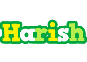 Harish soccer logo