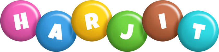 Harjit candy logo