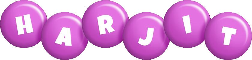 Harjit candy-purple logo
