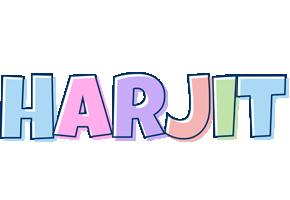 Harjit pastel logo