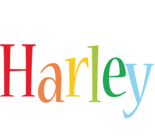Harley birthday logo