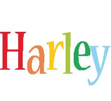 Harley birthday logo