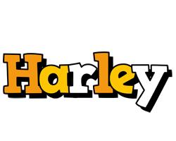 Harley cartoon logo