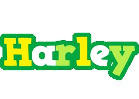 Harley soccer logo