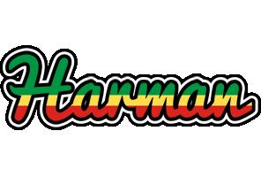 Harman african logo