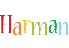 Harman birthday logo