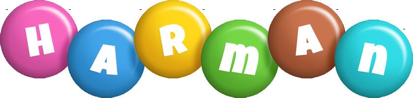 Harman candy logo
