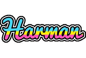 Harman circus logo