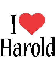 Harold i-love logo