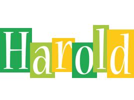 Harold lemonade logo