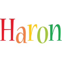 Haron birthday logo