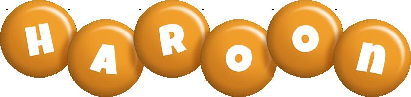 Haroon candy-orange logo