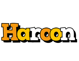 Haroon cartoon logo