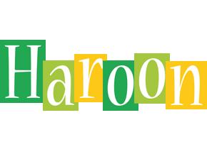 Haroon lemonade logo