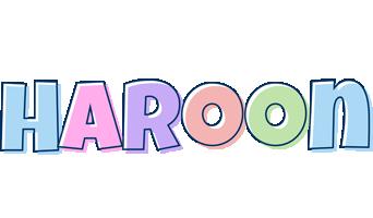 Haroon pastel logo