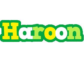 Haroon soccer logo