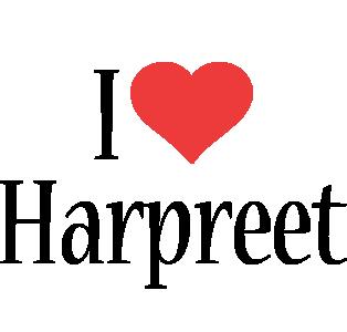 Harpreet i-love logo