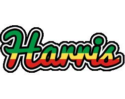 Harris african logo