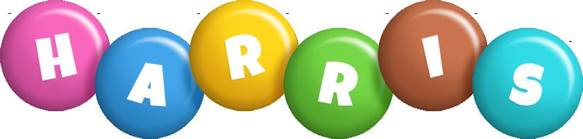 Harris candy logo