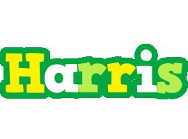 Harris soccer logo