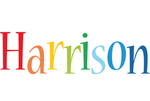 Harrison birthday logo