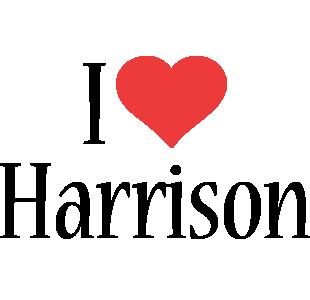 Harrison i-love logo