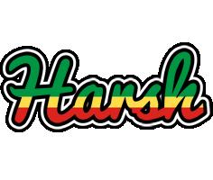 Harsh african logo