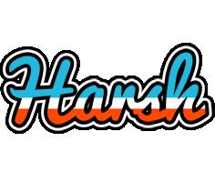 Harsh america logo