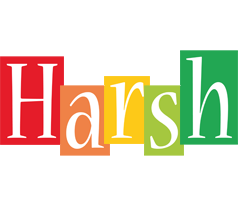 Harsh colors logo