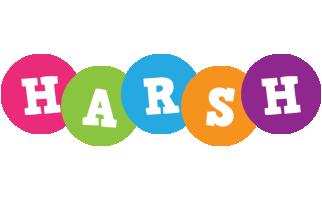 Harsh friends logo