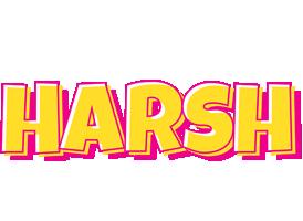 Harsh kaboom logo