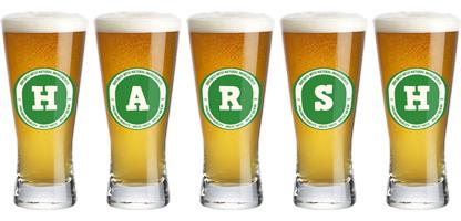 Harsh lager logo