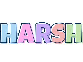 Harsh pastel logo